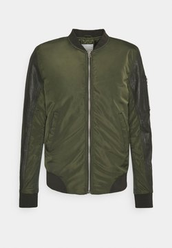 Goosecraft - CASH BOMBER - Giubbotto Bomber - leaf green