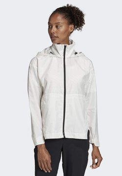 adidas Performance - URBAN WIND.RDY JACKET - Windbreaker - white