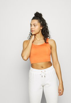 South Beach - SQUARE NECK TOPCUT SEW - Sport BH - orange