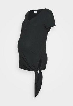 MAMALICIOUS - MLFIA LIA - Camiseta básica - black