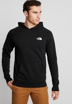 The North Face - RAGLAN HOODIE - Sweat à capuche - black/white