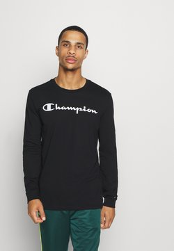 Champion - LEGACY CREWNECK LONG SLEEVE - Pitkähihainen paita - black