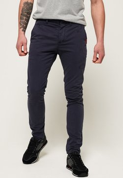 Superdry - Chinot - washed out navy