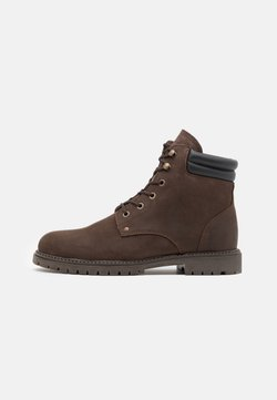 Selected Homme - SLHMICHAEL BOOT - Schnürstiefelette - demitasse