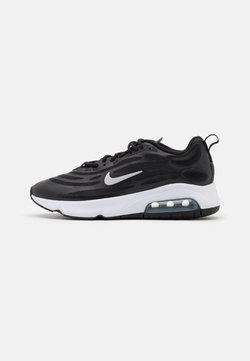 Nike Sportswear - AIR MAX EXOSENSE - Baskets basses - black/metallic silver/white