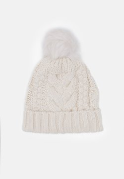 GAP - CABLE HAT - Mütze - soft ivory