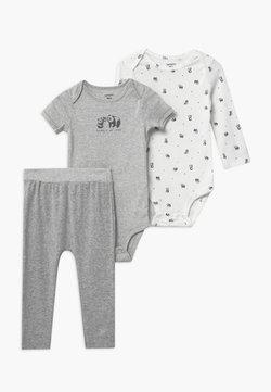 Carter's - NEUTRAL SET - Spodnie materiałowe - gray