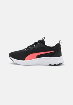 Puma - SOFTRIDE SOPHIA EASY - Zapatillas de running neutras - black/ignite pink/white