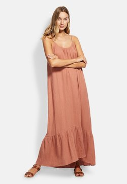 Seafolly - DOUBLE CLOTH MIDI SLIP - Strandaccessoire - faded rose