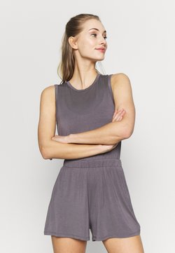 South Beach - YOGA ROMPER - Mono deportivo - smoky grey