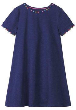 Boden - MIT REGENBOGENBORTEN - Jerseykleid - violet blue/navy