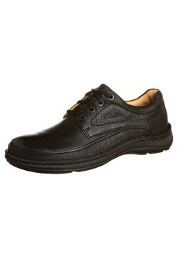 Clarks - NATURE THREE - Sportlicher Schnürer - black