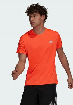 adidas Performance - T-shirt imprimé - red
