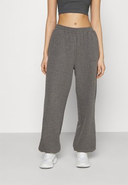 NA-KD - NA-KD X ZALANDO EXCLUSIVE - LOOSE FIT PANTS - Jogginghose - dark grey