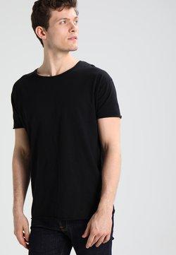 Nudie Jeans - ROGER - T-shirt - bas - black