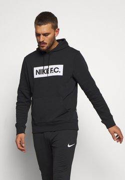 Nike Performance - FC HOODIE - Hoodie - black