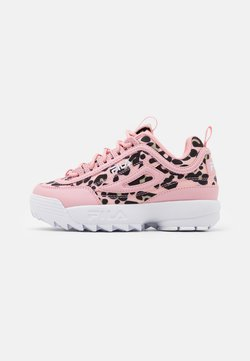 Fila - DISRUPTOR KIDS - Matalavartiset tennarit - coral blush