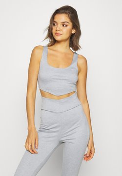 Nly by Nelly - CORSET SEAM SET - Jogginghose - grey