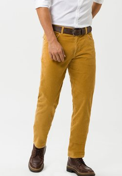 BRAX - COOPER FANCY - Pantalon classique - yellow