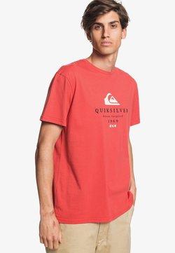 Quiksilver - FIRST FIRE - T-shirt print - baked apple