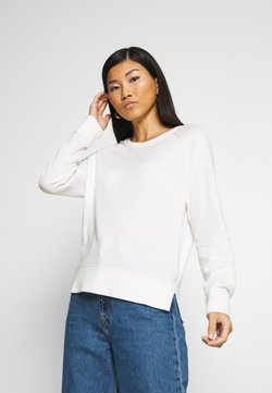 Marc O'Polo - RAGLAN SLEEVE - Strickpullover - off white