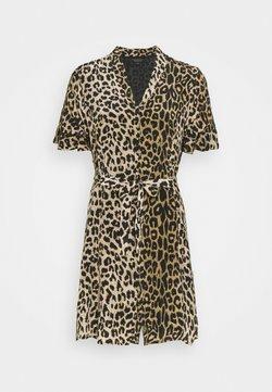 AllSaints - LEPPO DRESS - Freizeitkleid - leopard yellow