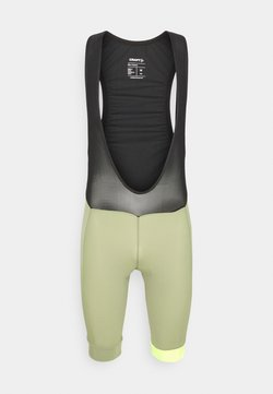 Craft - CORE ENDUR BIB SHORTS - Tights - forest/flumino