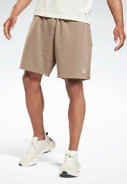 Reebok - LES MILLS® NATURAL DYE  - Pantalón corto de deporte - grey