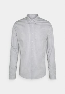 Calvin Klein Tailored - PRINTED SLIM SHIRT - Businesshemd - black