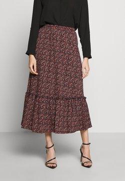 ONLY Petite - ONLPELLA SKIRT - Pleated skirt - black/route