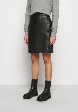 HUGO - RULENA - Pencil skirt - black