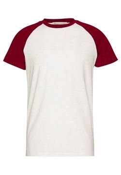 BY GARMENT MAKERS - UNISEX SVEN - T-shirt print - merlot