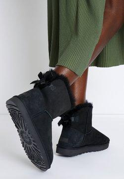 UGG - MINI BAILEY BOW - Stiefelette - black