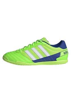 adidas Performance - SUPER SALA BOOTS - Zaalvoetbalschoenen - green
