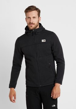 The North Face - GORDON LYONS HOODIE - Veste polaire - black heather