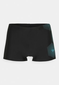 Speedo - GALA LOGO - Costume da bagno - black/light adriatic
