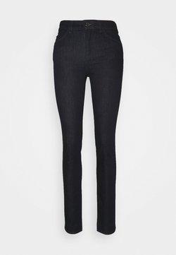 Emporio Armani - POCKETS PANT - Jeans Slim Fit - denim blu