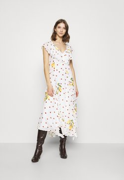 Farm Rio - CASHEW DOT MAXI DRESS - Freizeitkleid - multi