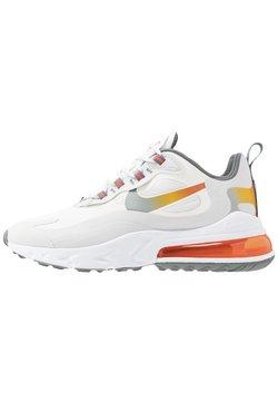 Nike Sportswear - AIR MAX 270 REACT - Sneakers laag - summit white/metallic gold/vast grey/smoke grey/team orange/white