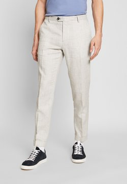 Tommy Hilfiger Tailored - SLIM FIT BLEND PANT - Trousers - grey