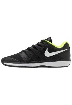 Nike Performance - AIR ZOOM PRESTIGE CLAY - da tennis per terra battuta - black/white/volt