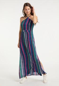 IZIA - Maxikleid - multicolor gestreift