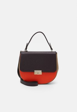 Decadent Copenhagen - JUNE SMALL TOP HANDLE - Torba na ramię - plum/tomato/sand