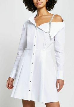 River Island - Cocktailkleid/festliches Kleid - white