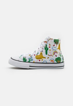 Converse - CHUCK TAYLOR ALL STAR UNISEX - Korkeavartiset tennarit - white/multicolor/black