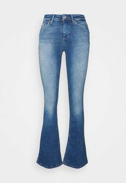 ONLY - ONLBLUSH  - Flared Jeans - medium blue denim