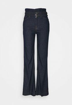 7 for all mankind - PAPERBAG MODERN DOJO LEFHANREL - Jeans a zampa - dark blue