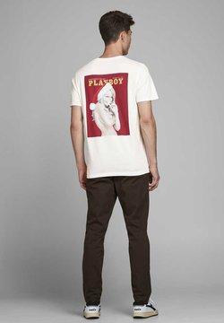 Jack & Jones - Print T-shirt - cloud dancer