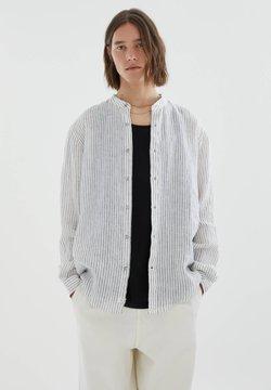 PULL&BEAR - Hemd - mottled light grey