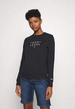 Tommy Jeans - ESSENTIAL LOGO - Sweatshirt - black
